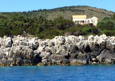 Casa Di Gio from the Sea